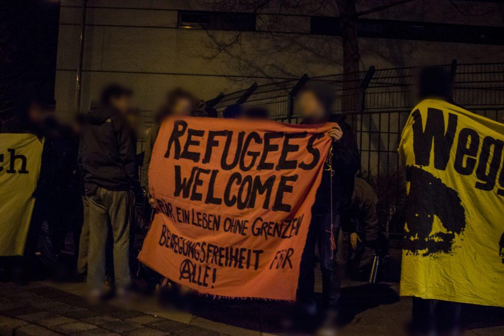 Kundgebung gegen Abschiebungen nach Marokko aus Bremen
